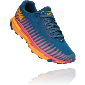 Hoka One One Torrent 2 Running Shoes Women moroccan blue/saffron